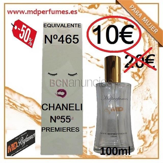 Perfum equivalent dona Nº465 Chaneli nº55 Premieres 100ml
