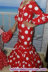 Traje flamenca talla 38
