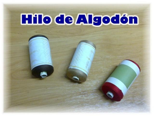 VENDO HILO DE COSER EN BOBINAS CILINDRICAS