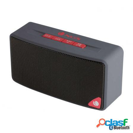 Altavoz bluetooth ngs roller joy gray - 3w- radio fm - usb -