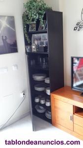 Mueble de cocina, negro, ikea