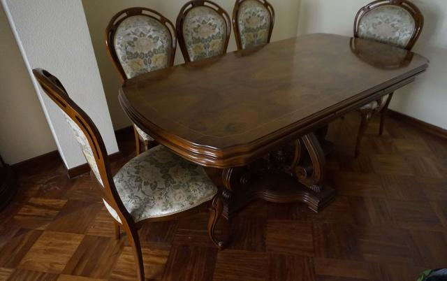 Mesa de Comedor en madera de raíz