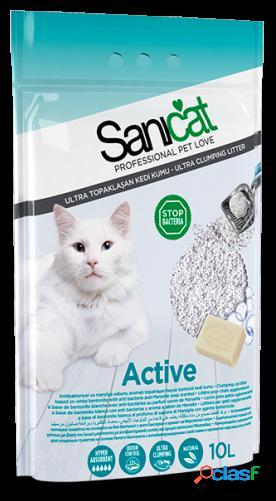 Sanicat Active para Gatos 10 L