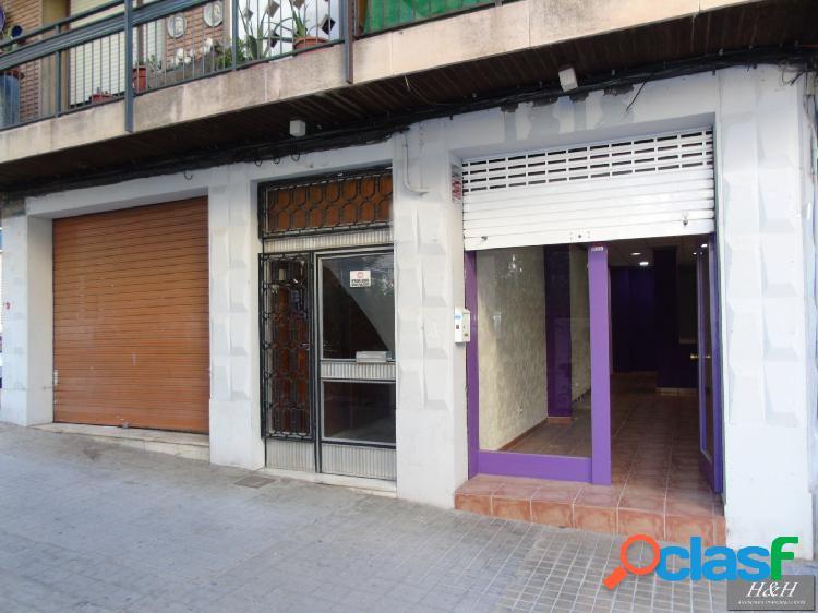Se alquila local comercial en el centro de Burjassot. / HH