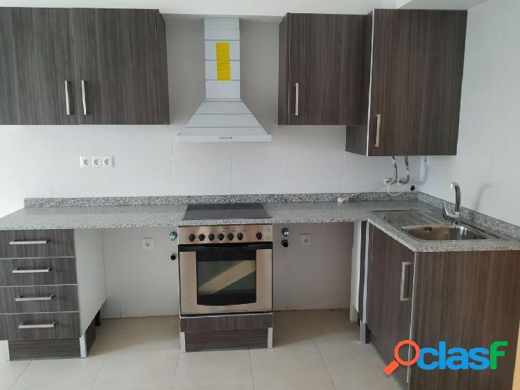 Apartamento de obra nueva de 45 m2, con 2 habitaciones