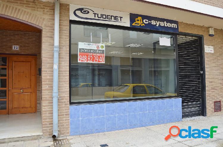 Venta local comercial instalado en el centro de Tudela