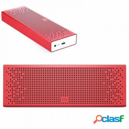 Altavoz bluetooth xiaomi mi speaker red - 2x3w - drivers