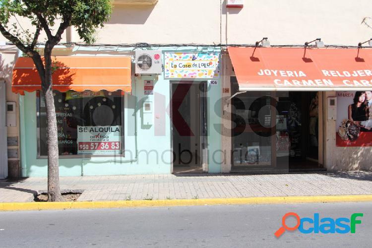 Local comercial en alquiler en El Ejido en Ejido Norte