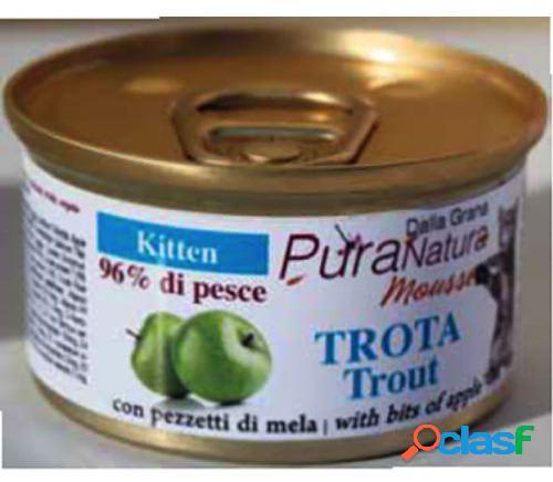 Pura Natura Comida Humeda para Gatitos G.F Trucha con