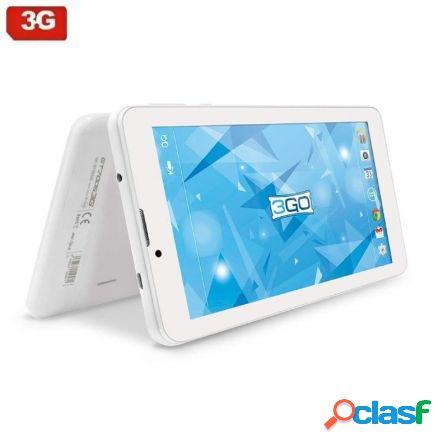 Tablet con 3g 3go gt70053g blanca - qc - 1gb ram - 16gb -