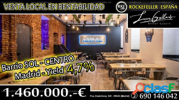 Venta Local comercial - Sol, Centro, Madrid [219430/Local