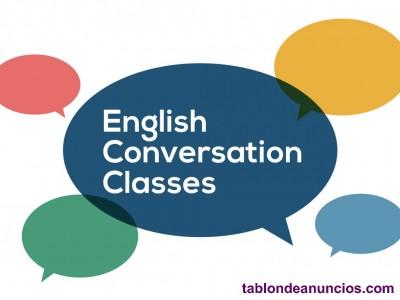 Profesor particular conversación en inglés