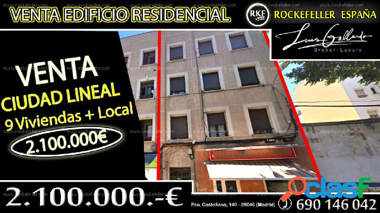 Venta Edificio - Ventas, Ciudad Lineal, Madrid