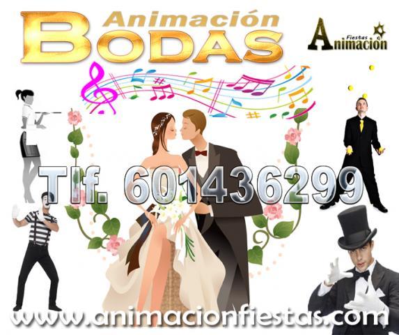 animación y espectaculos para boda en Madrid