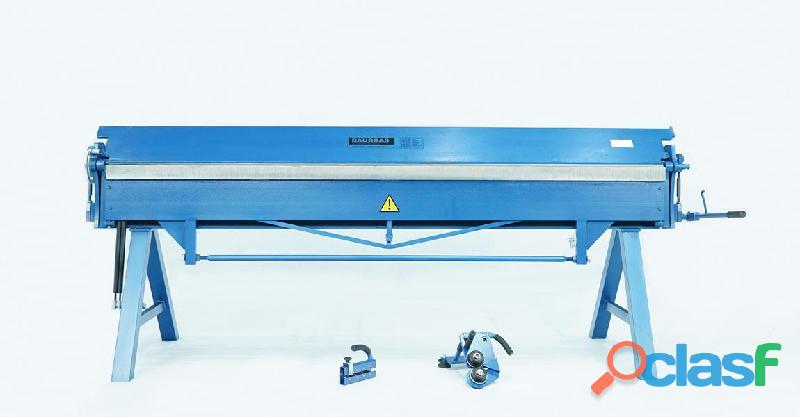 Maquinas de taller para hojalata y chapa, plegadora