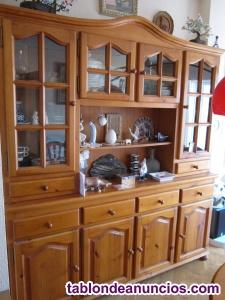 "Vendo muebles de pino tipo ""provenzal"" para salón"
