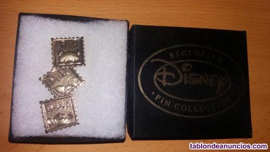 Disney pins de frozen y winnie the pooh