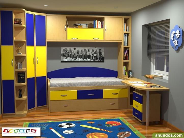 Dormitorio compacto para apartamento en calpe