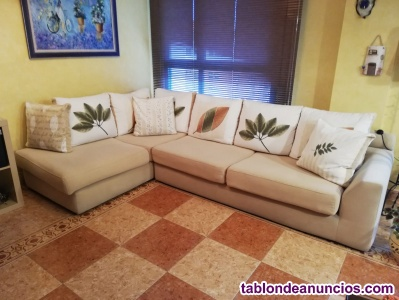 Se vende sofá chaiselongue