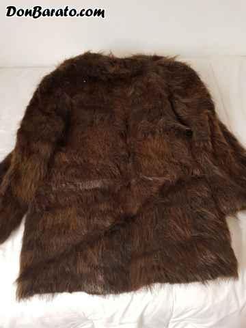 Abrigo corto de piel