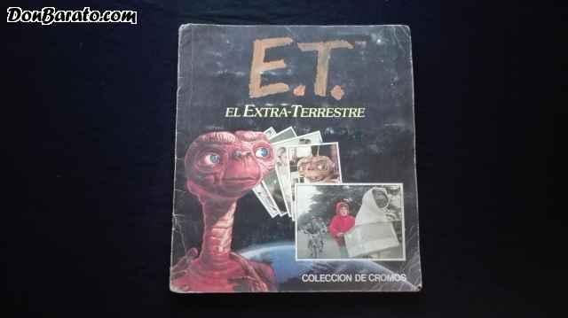 Album cromos e.t. el extra terrestre