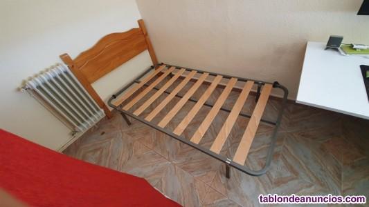 Cabecero cama madera 105 cm