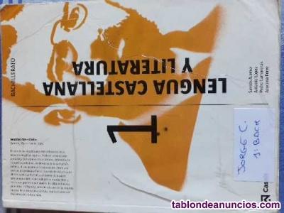 Libro de lengua castellana y literatura 1º bachillerato