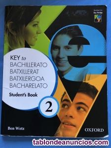 Libro inglés 2°bachillerato