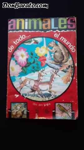 Album de cromos animales de todo el mundo