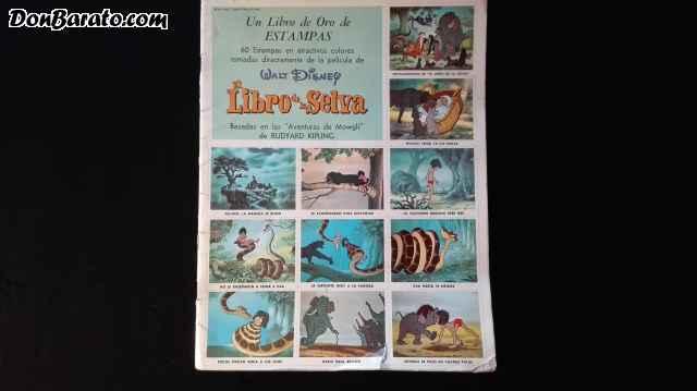 Libro de oro de estampas: el libro de la selva