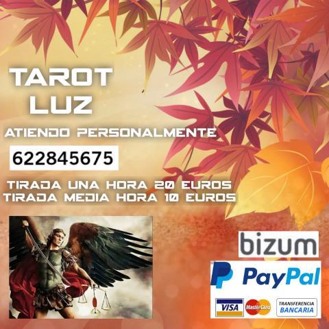 Tarot Luz servicios tarot
