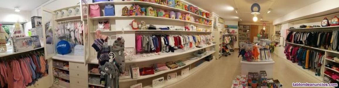 Traspaso tienda de ropa bebe, infantil y puericultura
