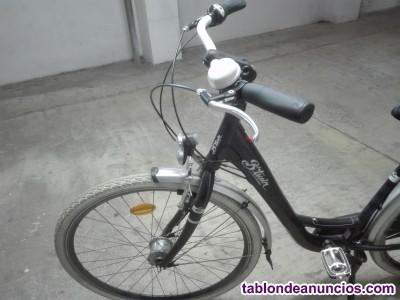 Bicicleta de paseo b·tuin elops9, casi nueva