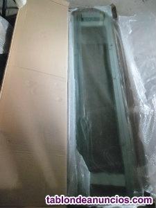 Mampara de cristal sin perfiles nueva