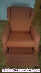 Vendo sillón relax con orejeras