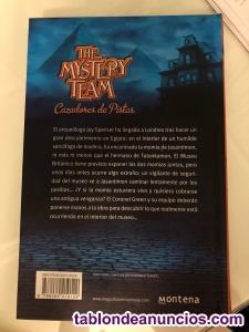 Libro the mystery team. El misterio de las momias