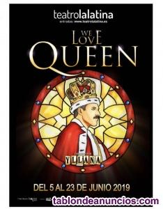 2 entradas musical i love queen 21 de junio