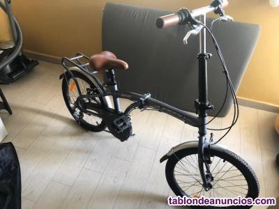Vendo bicicleta plegable nueva