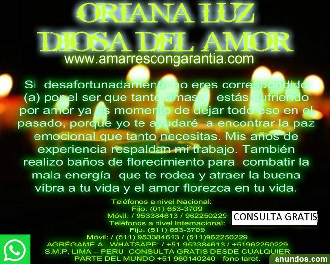 Oriana luz diosa del amor vidente - Albacete Ciudad