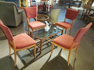 Mesa y sillas ocasión