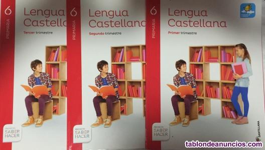 Vendo libros 6º primaria colegio miguel hernandez