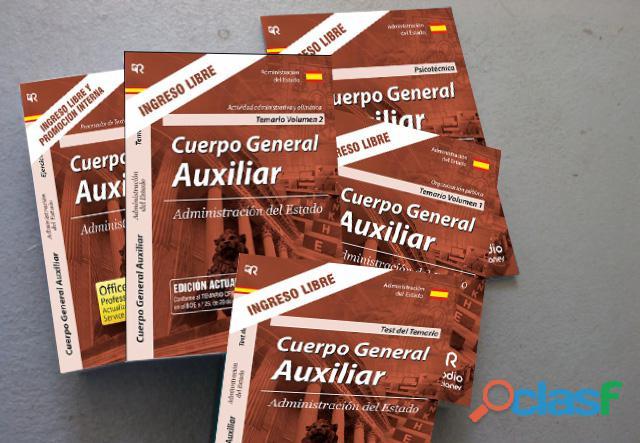 Libros Oposiciones Auxiliar Administrativo del Estado 2019