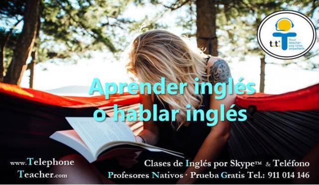 Mejora tu nivel de inglés hablado Prf. Nativo por