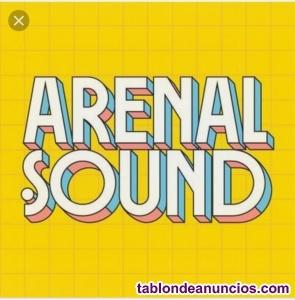 Entradas concierto arenal sound 5 días