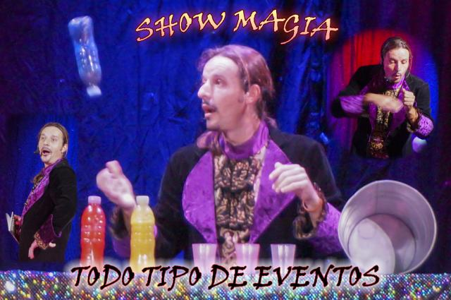 SHOW DE MAGIA PARA TODO TIPO DE EVENTOS