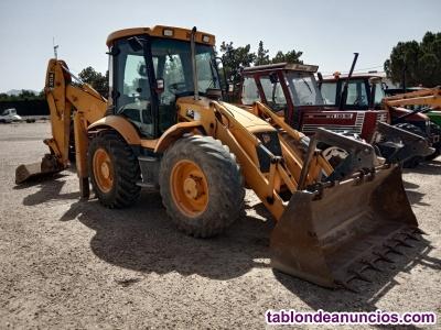Retro excavadora mixta jcb 4cx.