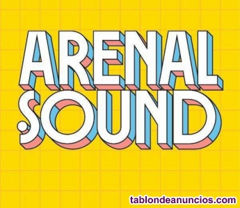 Vendo 5 entradas arenal sound