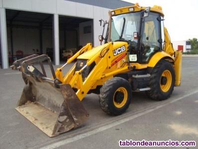 Retro excavadora mixta jcb 3cx. – año . – horas