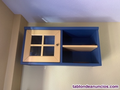 Dormitorio infantil lacado 9 piezas