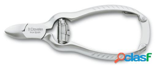 3 Claveles Alicate Uñas Americano Inoxidable 11.5 cm